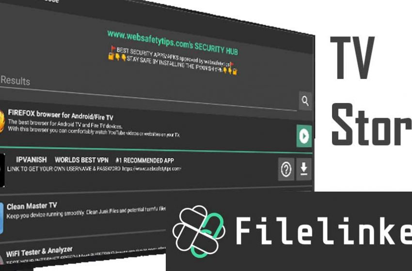 Filelinked – Android TV App Store