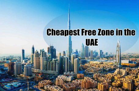 Cheapest free zone in the UAE